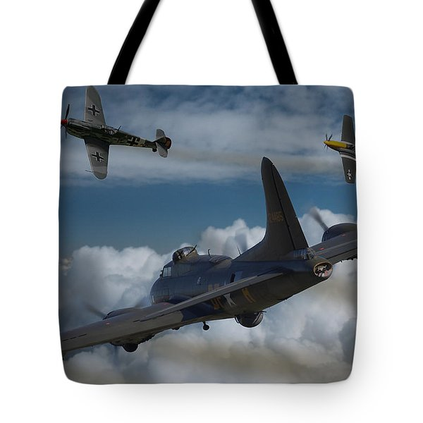 A Close Encounter Tote Bag by Ken Brannen