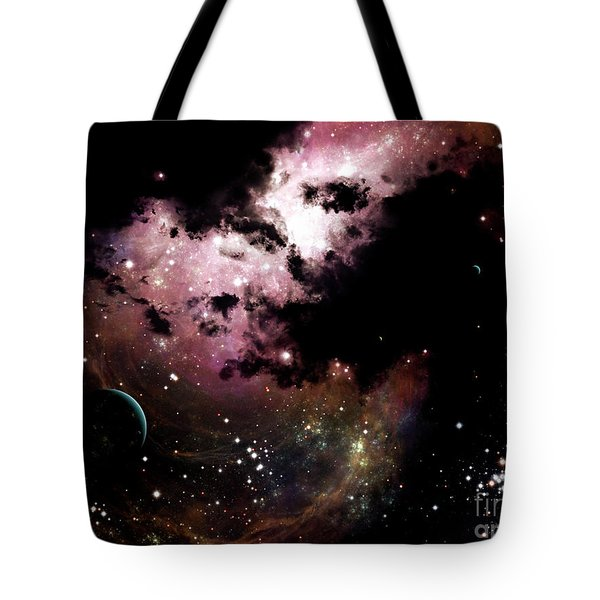 A Cluster Of Bright Young Stars Tear Tote Bag by Brian Christensen
