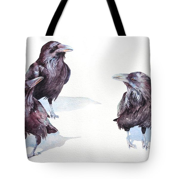 A Conspiracy Of Ravens Tote Bag