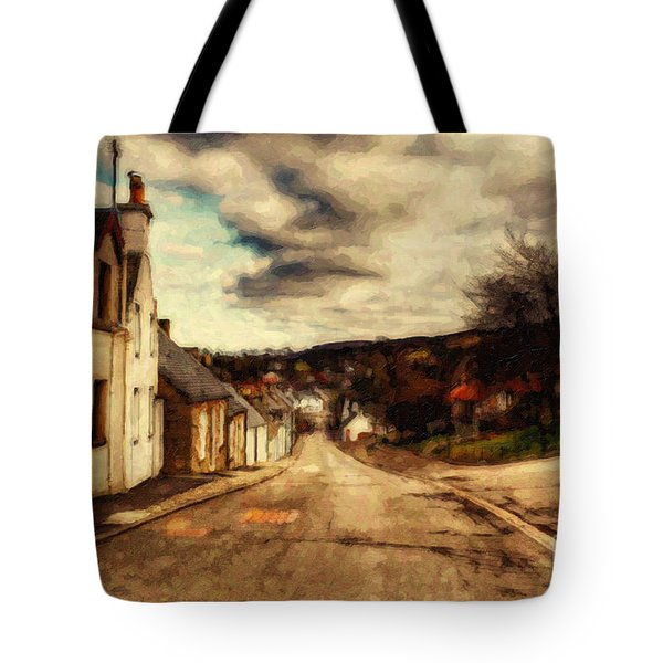 A Cotswold Village Tote Bag by Lianne Schneider