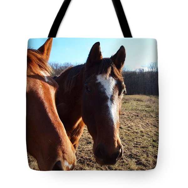 A Cowboys Best Friend Tote Bag by Robert Margetts