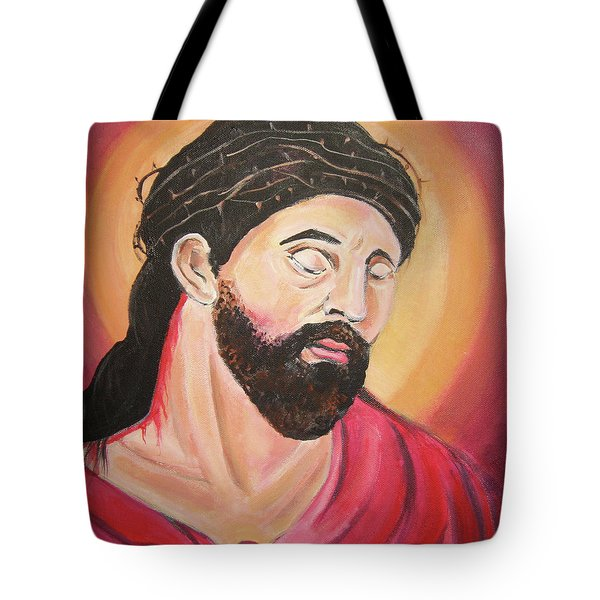 A Crown Of Thorns Tote Bag by John Keaton