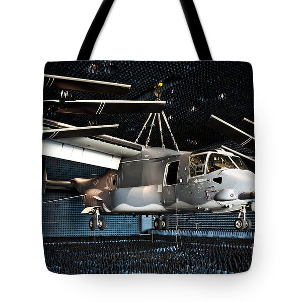 A Cv-22 Osprey Hangs In A Anechoic Tote Bag by Stocktrek Images