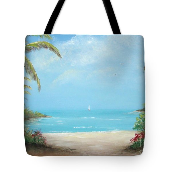 A Day In The Tropics Tote Bag