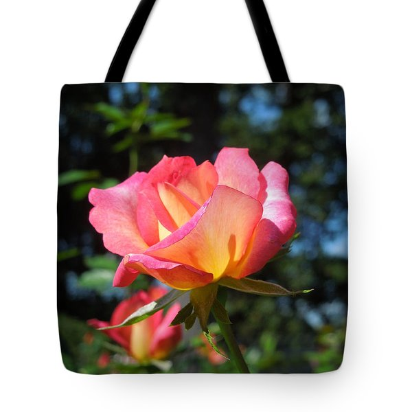 A Delicate Rose Tote Bag