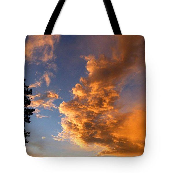 A Dramatic Summer Evening 1 Tote Bag by Will Borden