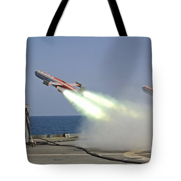 A Drone Is Launched From The Amphibious Tote Bag by Stocktrek Images