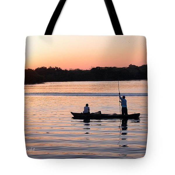 A Fisherman's Story Tote Bag