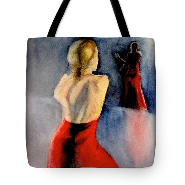 A Flamenco Dancer  3 Tote Bag by Yoshiko Mishina