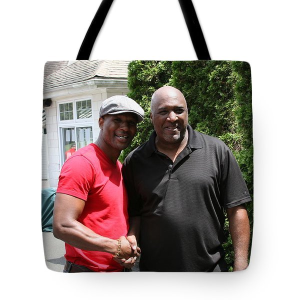 A Friend Bernard Hopkins Tote Bag