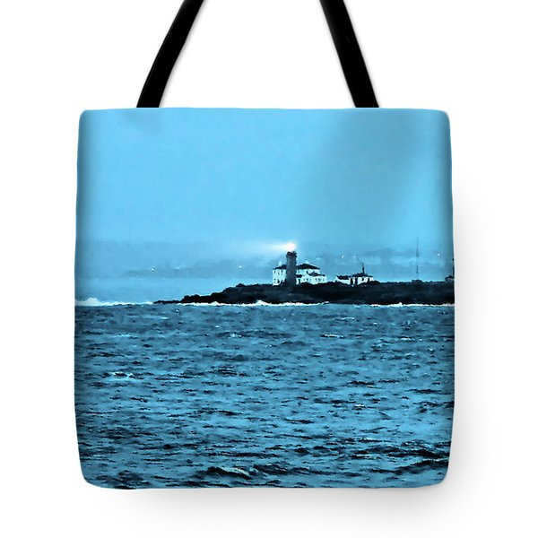 A Friend In The Darkness Tote Bag by Kristin Elmquist