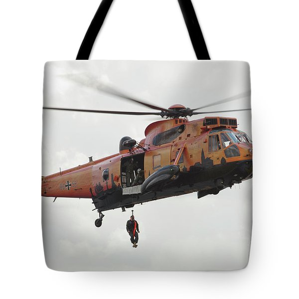 A German Ws-1 Sea King Tote Bag by Timm Ziegenthaler