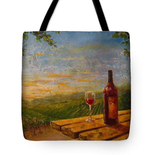 A Good Year Tote Bag by Jane Mick