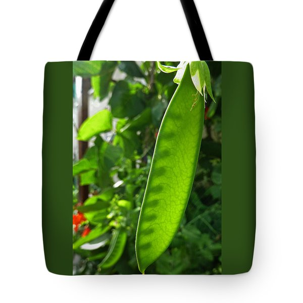 Tote Bag featuring the photograph A Green Womb by Steve Taylor