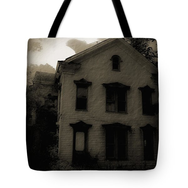 A Haunting Tote Bag by DigiArt Diaries by Vicky B Fuller