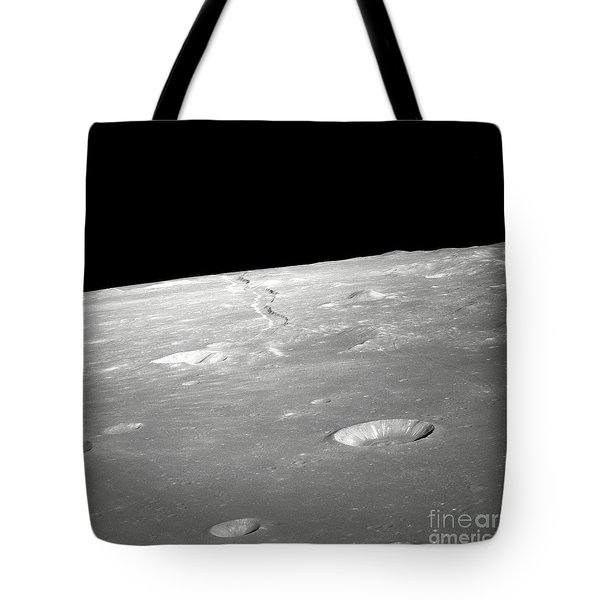 A High Forward Oblique View Of Rima Tote Bag by Stocktrek Images