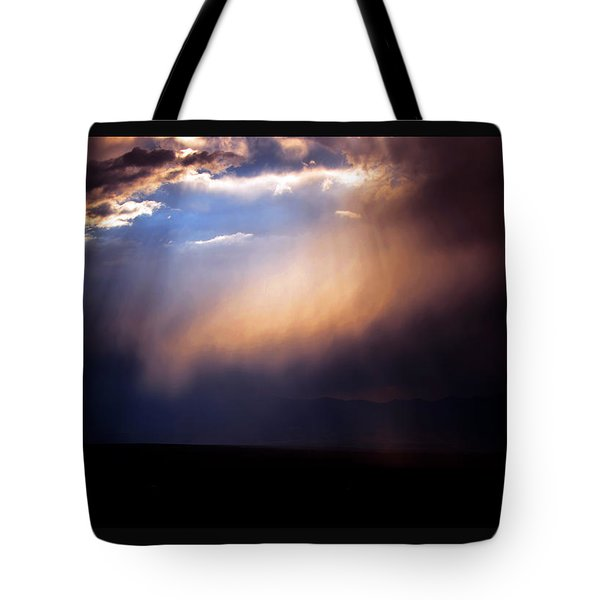 A Higher Violet Tote Bag by Susanne Still