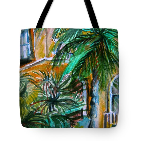 A Hotel In Sorrento Italy Tote Bag by Mindy Newman
