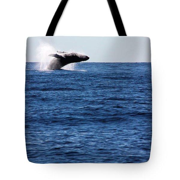 A Huge Splash Tote Bag