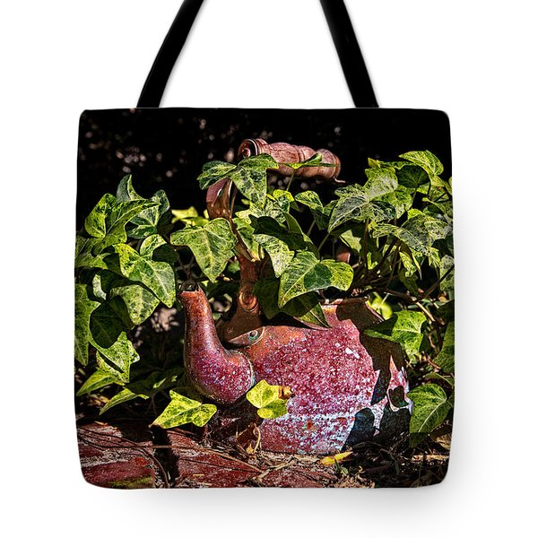 A Kettle Of Greens Tote Bag by Christopher Holmes