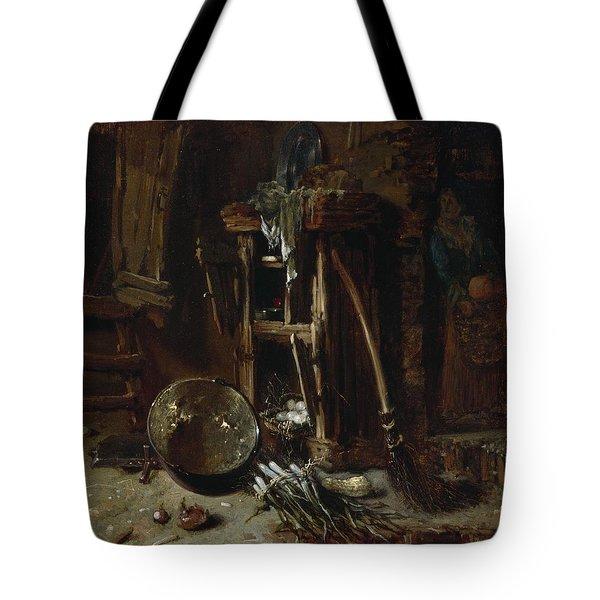A Kitchen Corner Tote Bag by Willem Kalf