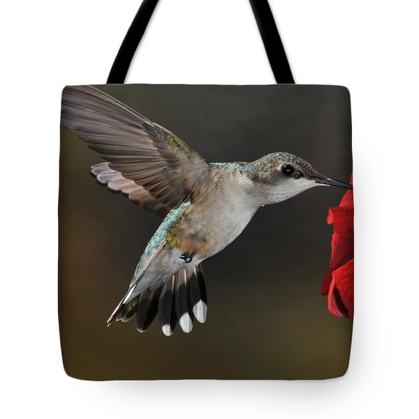 A Lady At Lunch Tote Bag