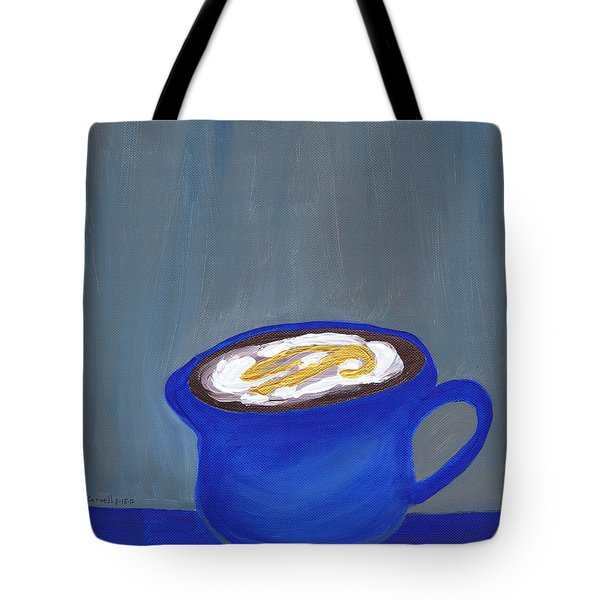 A Little Blue Tote Bag