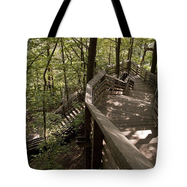 A Long Way Down Tote Bag by Jeannette Hunt