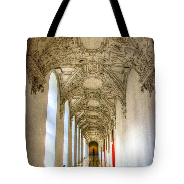 A Long Way Tote Bag by Syed Aqueel
