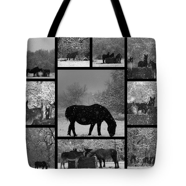 A Long Winter Tote Bag by Christy Leigh