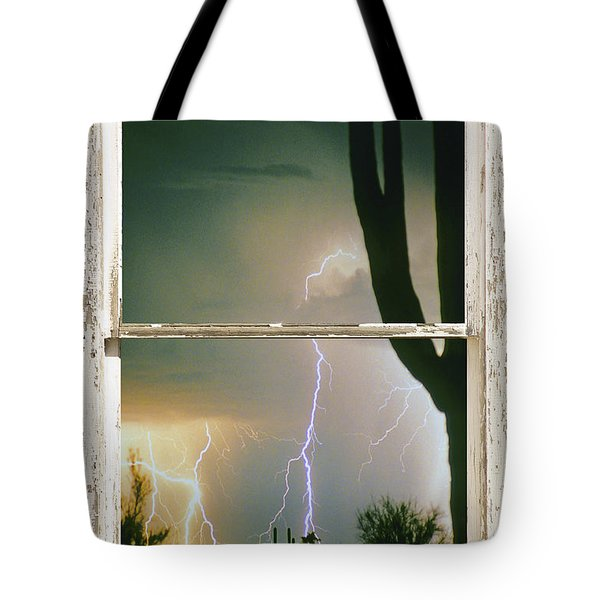 A Moment In Time Rustic Barn Picture Window View Tote Bag by James BO  Insogna