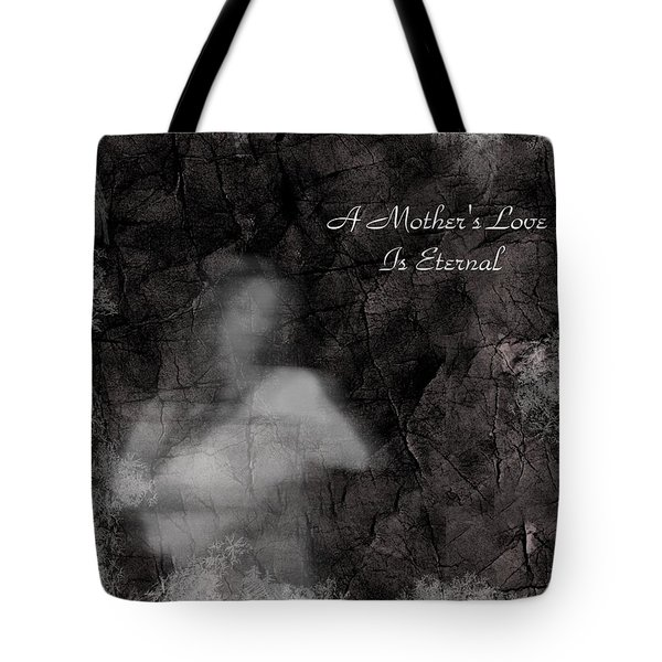 A Mother's Love Tote Bag by Rhonda Barrett