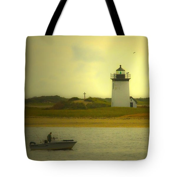 A New England Moment Tote Bag by Karol Livote