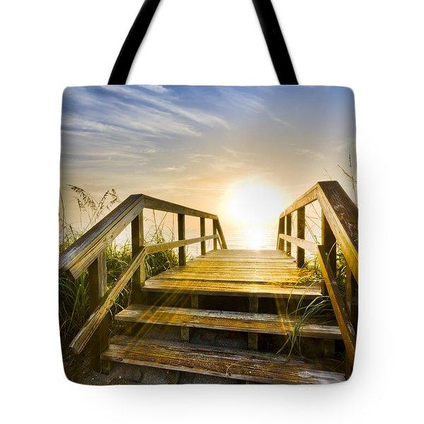 A New Start Tote Bag by Debra and Dave Vanderlaan