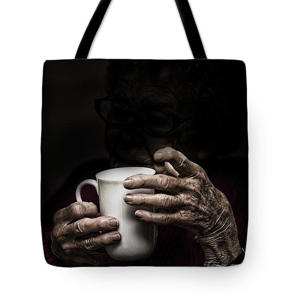 A Nice Cup Of Tea Tote Bag by Avalon Fine Art Photography
