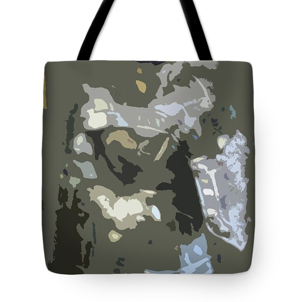 A Nightly Knight Tote Bag by Karen Francis