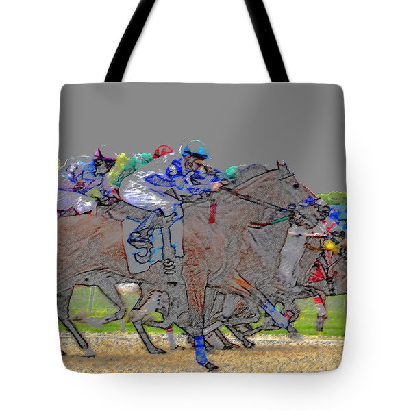 A Packed Field Tote Bag by David Lee Thompson