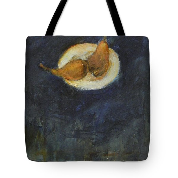 Tote Bag featuring the painting A Pair by Kathleen Grace