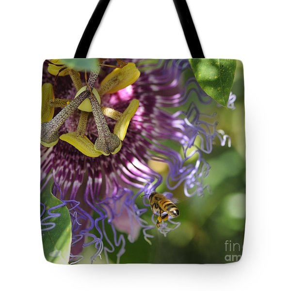 A Passion For Flowers Tote Bag
