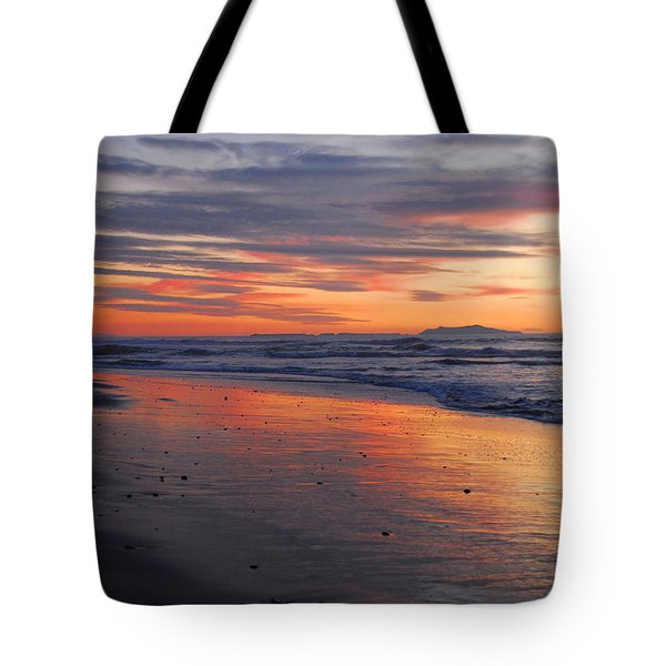 Tote Bag featuring the photograph A Passion For Purple by Lynn Bauer
