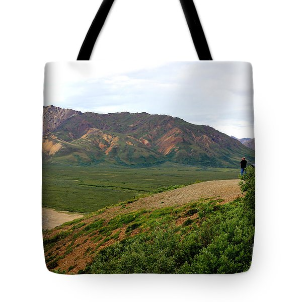 Tote Bag featuring the photograph A Photographer's Dream by Kathy  White