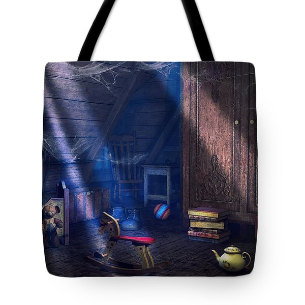 A Place Of Memories Tote Bag by Jutta Maria Pusl
