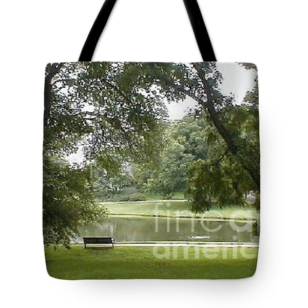 A Quiet Place Tote Bag by Vonda Lawson-Rosa