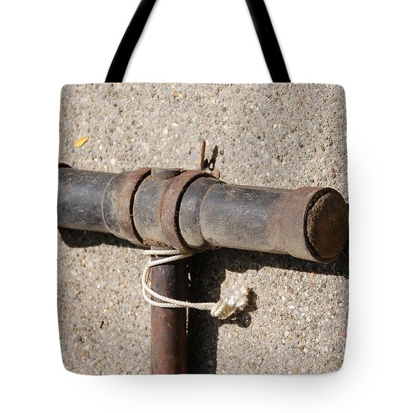 A Really Old Hammer Tote Bag by Randy J Heath