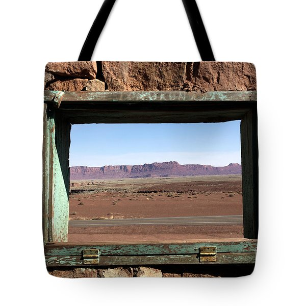 A Room With A View Tote Bag by Karen Lee Ensley