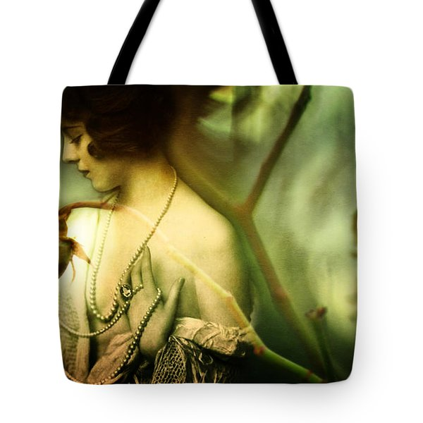 A Rose In Winter Tote Bag