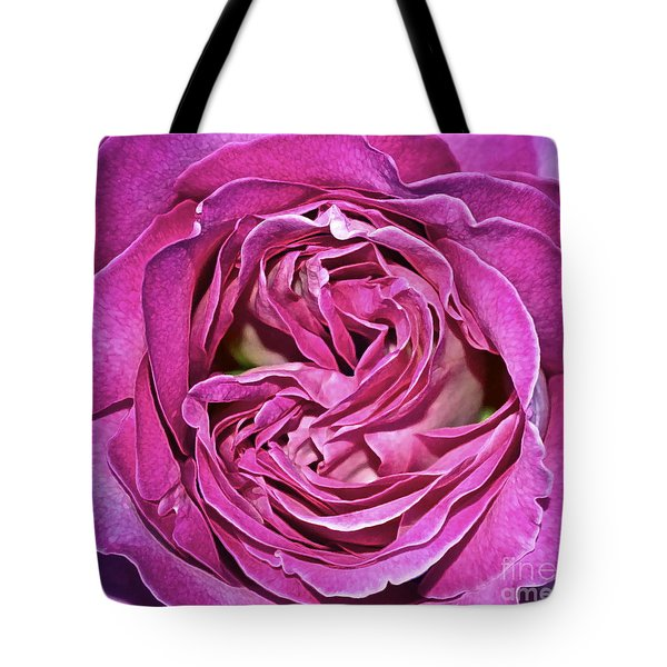 A Rose Is A Rose ... Tote Bag by Gwyn Newcombe
