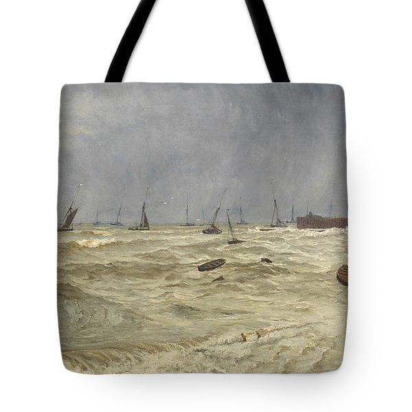 A Rough Day At Leigh Tote Bag by William Pye