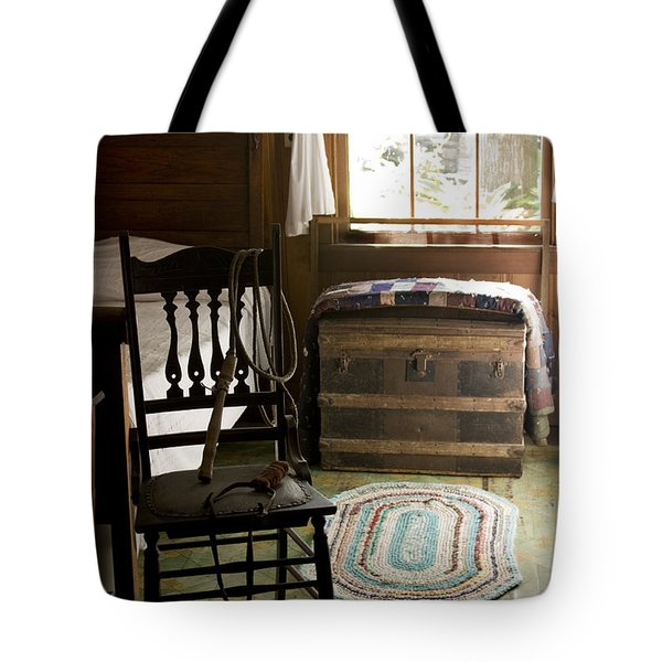Tote Bag featuring the photograph A Simpler Life by Lynn Palmer