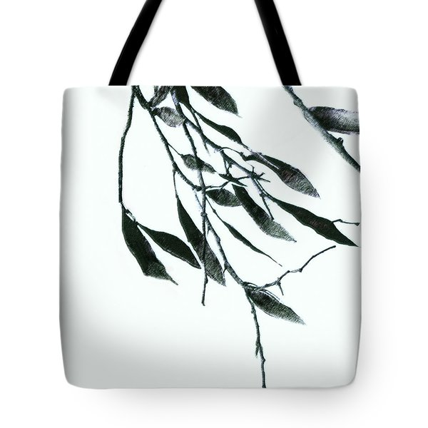 A Single Branch Tote Bag by Ann Powell